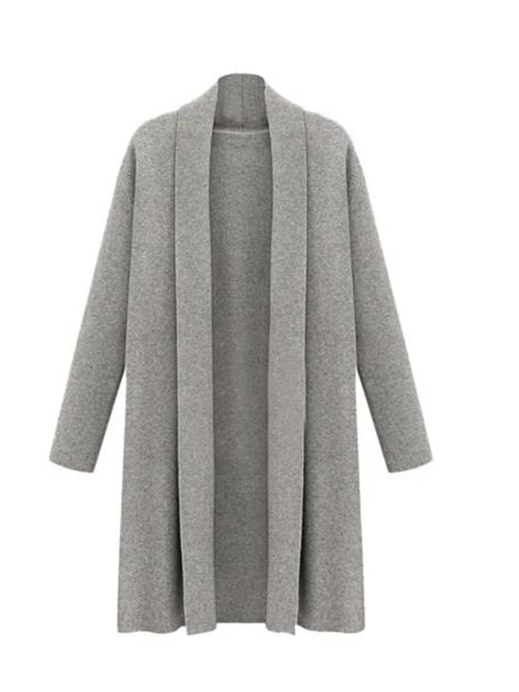Women's Long Cloak Casual Trench Coat