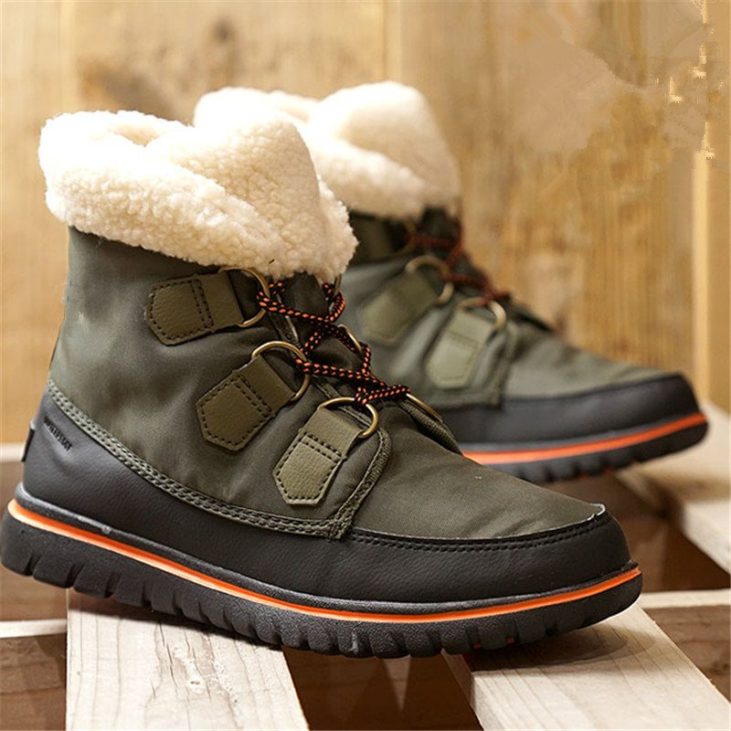Women Outdoor Waterproof Cloth Daily Winter Boots
