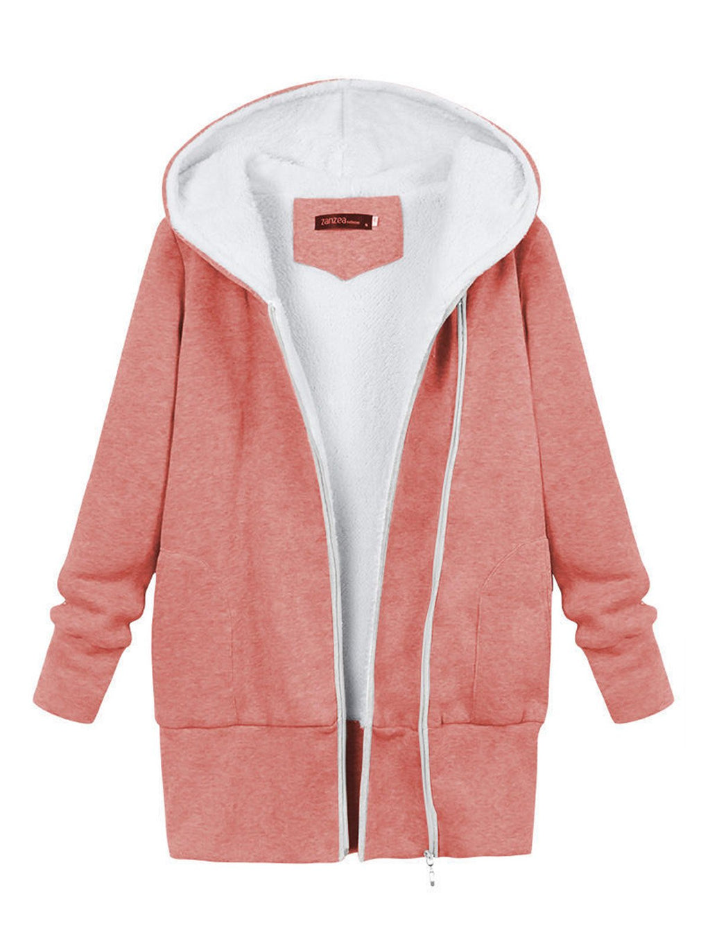 Casual Cotton Solid Hoodies & Sweatshirt