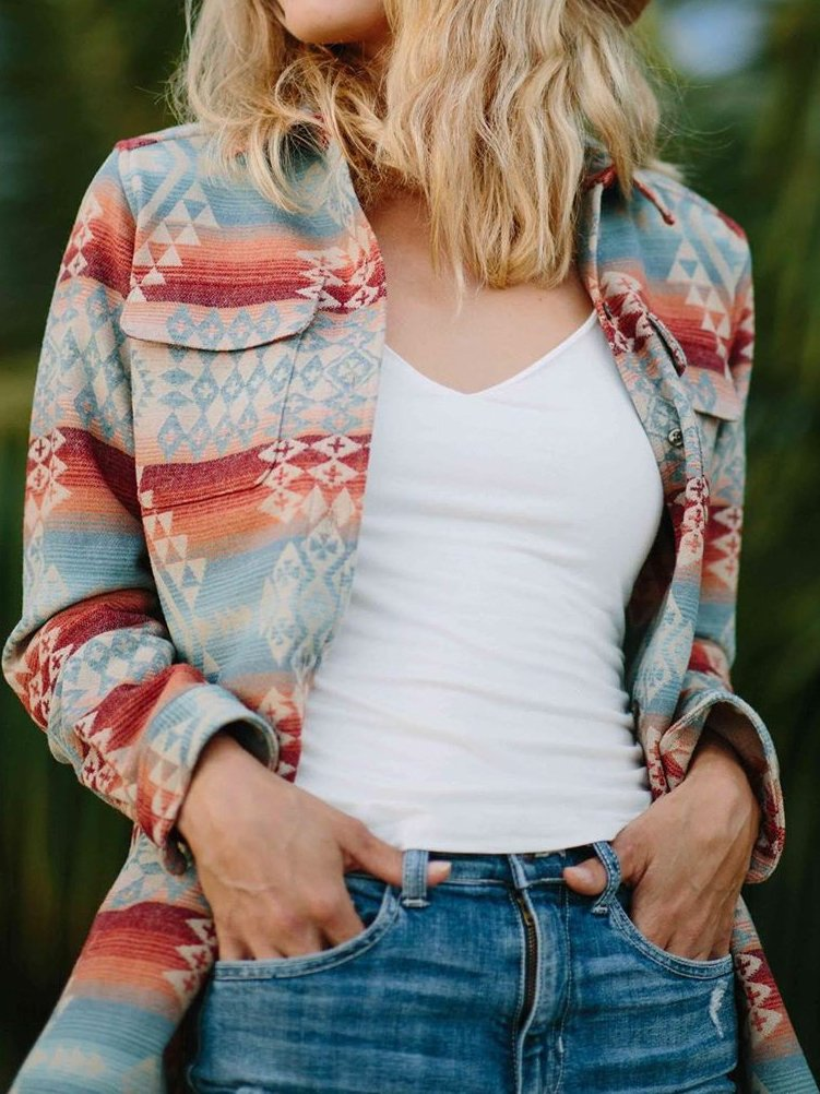 Boho Long Sleeve Outerwear