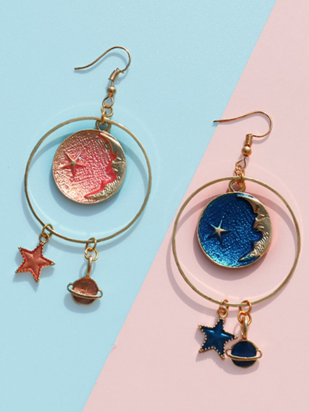 Women Stars Alloy Earrings Rikkishop