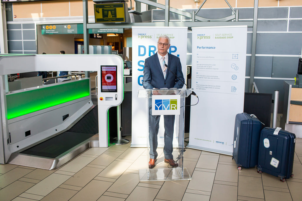 Glidepath technology behind world's most efficient self-service bag drop system