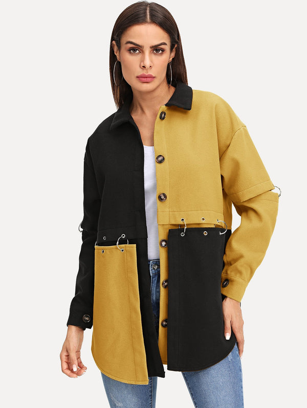 VF Block Coat - Vogue Forest