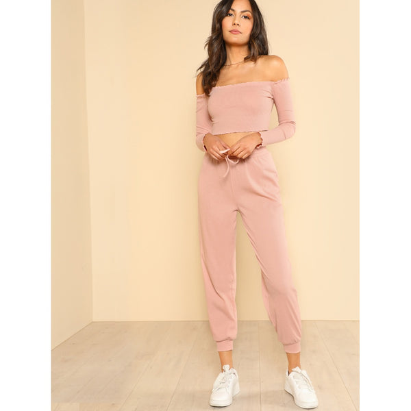 VF Denae Pants Set - Vogue Forest