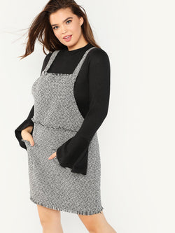 VF Plus Pinafore Dress - Vogue Forest