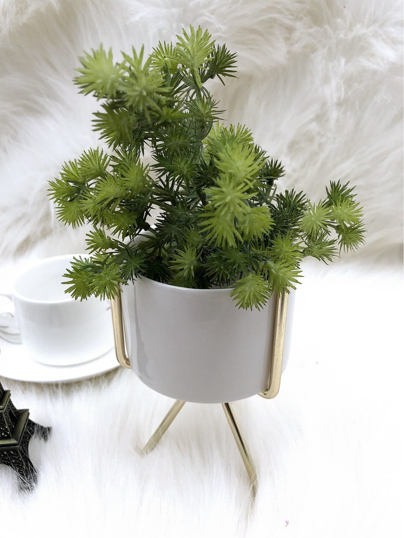 VF Flower Pot With Flower Pot Holder - Vogue Forest