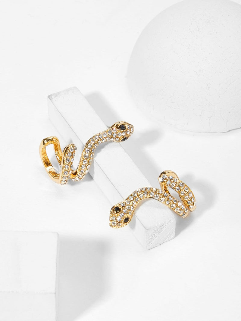 VF Snake Shaped Stud Earrings - Vogue Forest