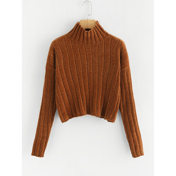 VF Maria Crop Sweater - Vogue Forest