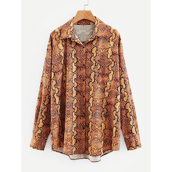 VF Snakeskin Shirt - Vogue Forest