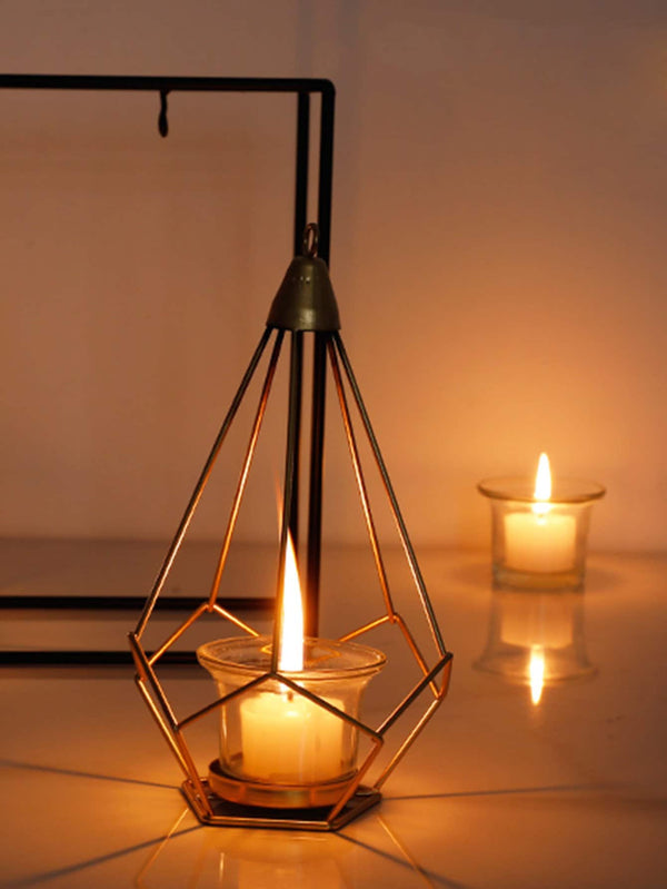 VF Hanging Geometric Candle Holder 1pc - Vogue Forest
