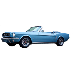 Ford Mustang 1966 Convertible - I Do Wedding Cars