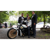 Harley Davidson V Rod - I Do Wedding Cars