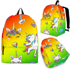 "Teen 21"" Tri-Colored Pony CS Backpack"