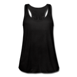 Women's Flowy Tank Top by Bella - black