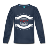 Long Sleeve Chaplin Star Crest - navy