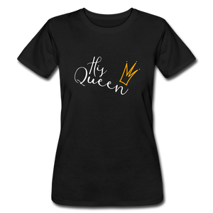 His Queen Jersey T - black