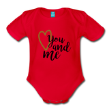 You & Me Body Suit - red
