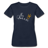 His Queen Jersey T - navy