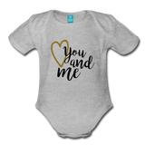 You & Me Body Suit - heather gray