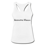 SSauce racer back - white