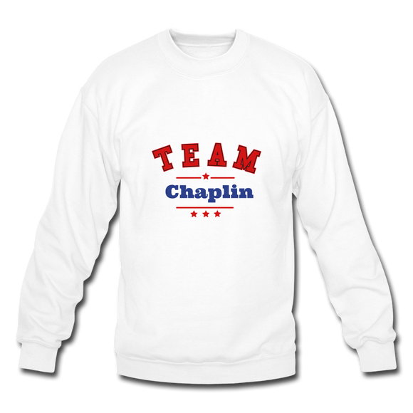 Team Chaplin Crewneck Sweatshirt - white