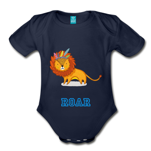 Tiger Body Suit - dark navy