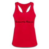 SSauce racer back - red