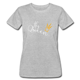 His Queen Jersey T - heather gray