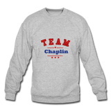 Team Chaplin Crewneck Sweatshirt - heather gray