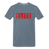 "Men's ""Elite"" T-shirt - steel blue"