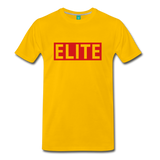 "Men's ""Elite"" T-shirt - sun yellow"