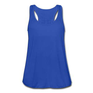Women's Flowy Tank Top by Bella - royal blue
