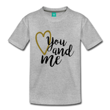 You & Me T - heather gray