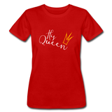 His Queen Jersey T - red