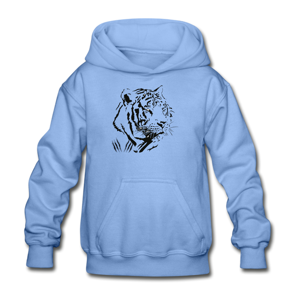 Tiger Claw Youth Hoodie - carolina blue