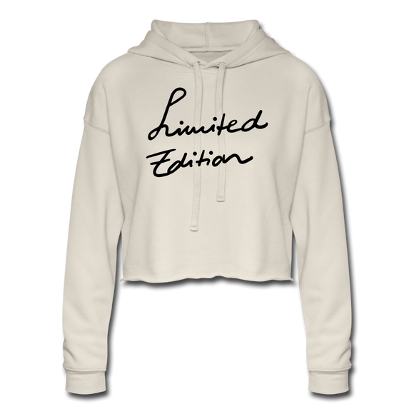 Women's Limited Edition  Cropped Hoodie - dust