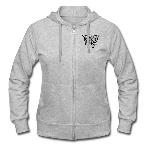 Destiny  Women's Zip Hoodie - heather gray