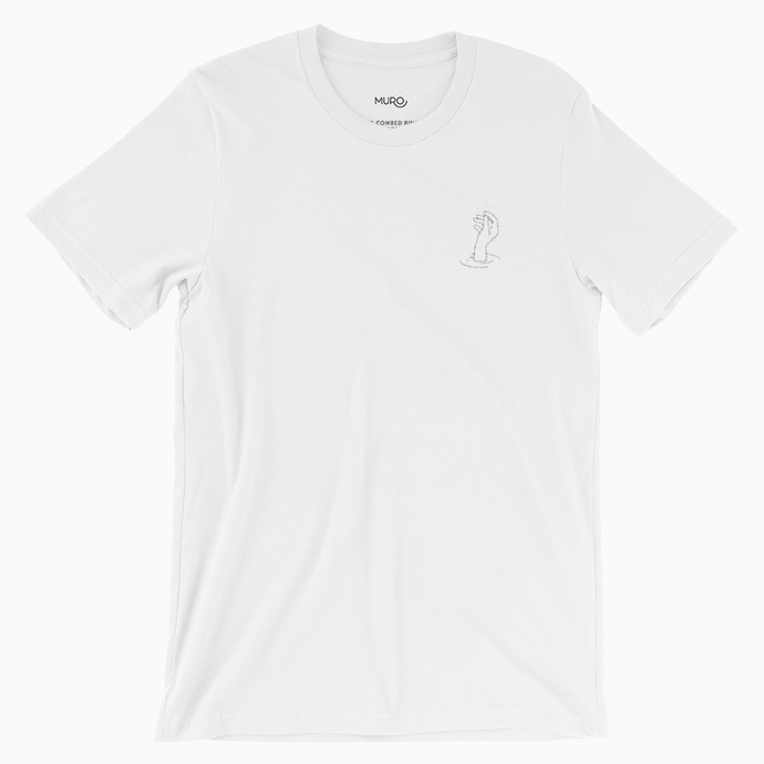 Reach Embroidered T Shirt