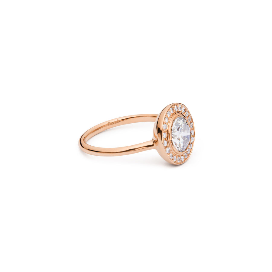 ILYA Diamond Halo Ring
