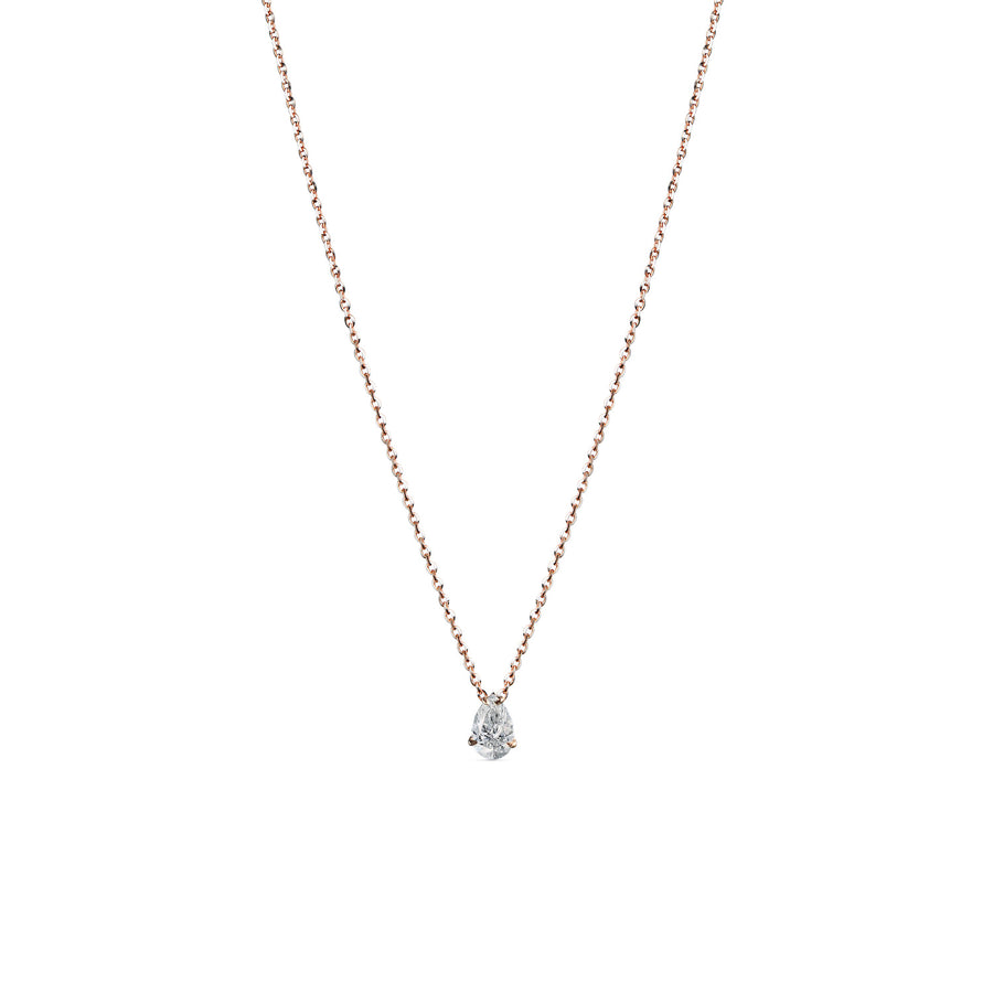 GIGARO II Pear shape Diamond Necklace