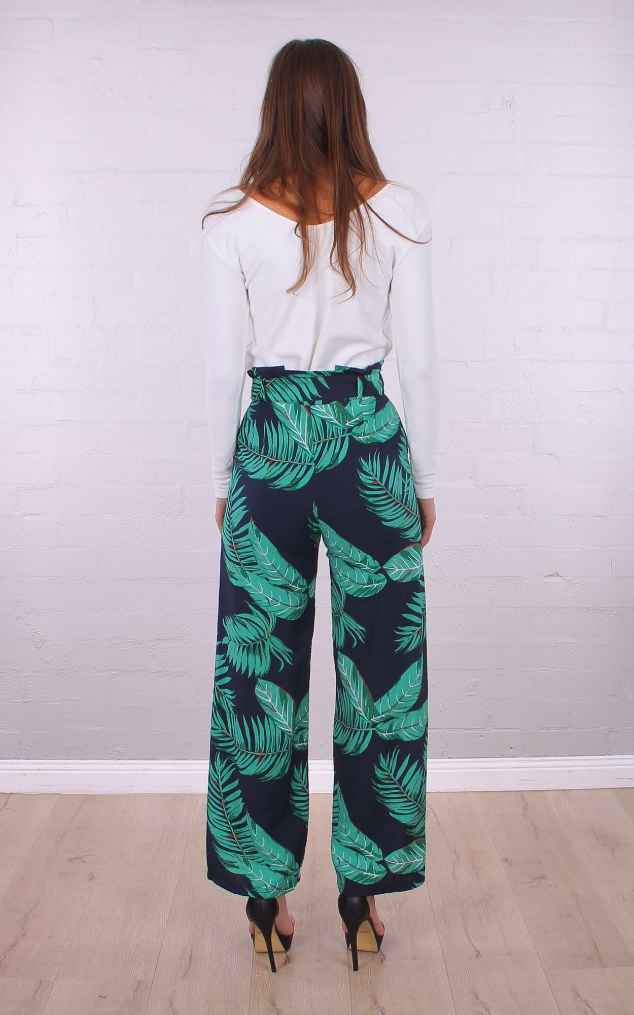 Good night Montana high waisted flare leg pants