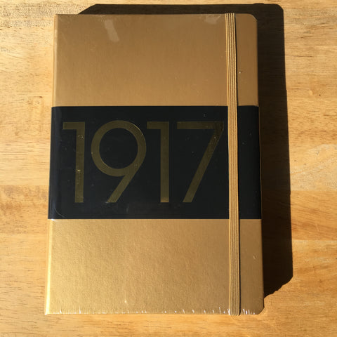 A5 Leuchtturm1917 Gold 100th Anniversary Edition Dotted