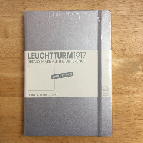 A5 Leuchtturm1917 Silver Limited Edition Plain