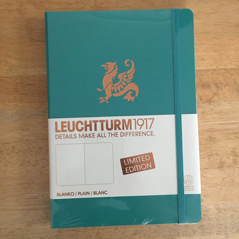 A5 Leuchtturm1917 Limited Edition Copper Emerald Plain