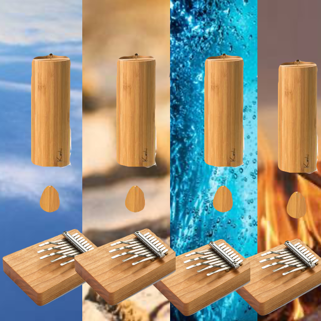 Koshi Chimes - there is a Kalimba to go with your Koshi chime element