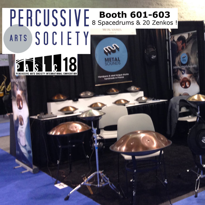 Metal Sounds at PASIC Indianapolis Nov 14-17