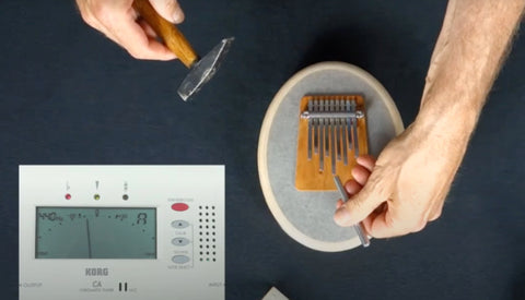How to tune your Hokema Kalimba