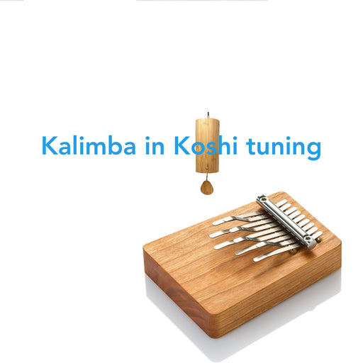 Koshi chime with matching Hokema Kalimba | WePlayWellTogether
