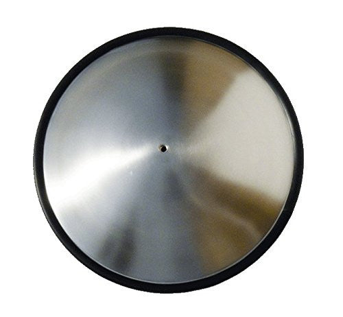 feeltoneusa - Metal Sounds - Akebone Zenko Drum , handpan made out of stainless steel  backside