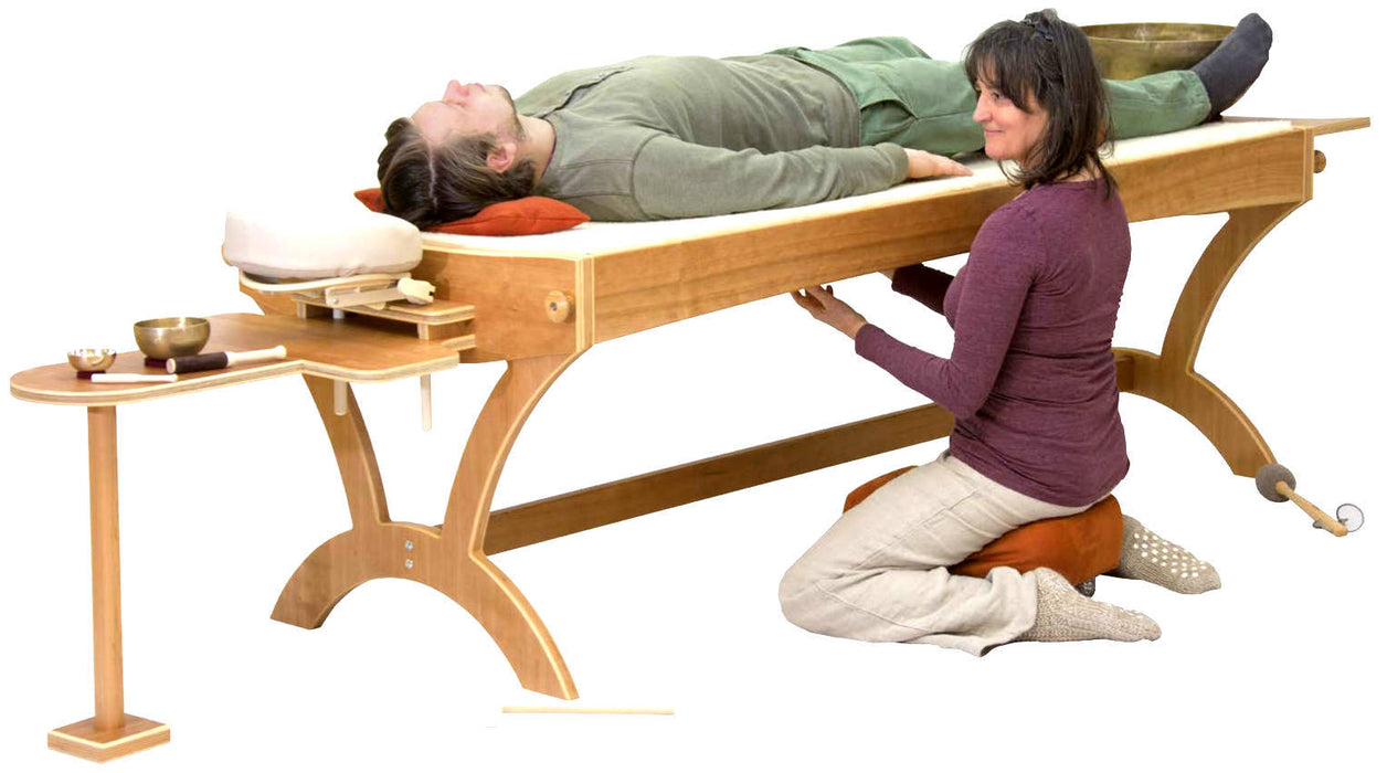 feeltoneusa monchord Table - therapy monochord - monochord bed and accessories for the bed